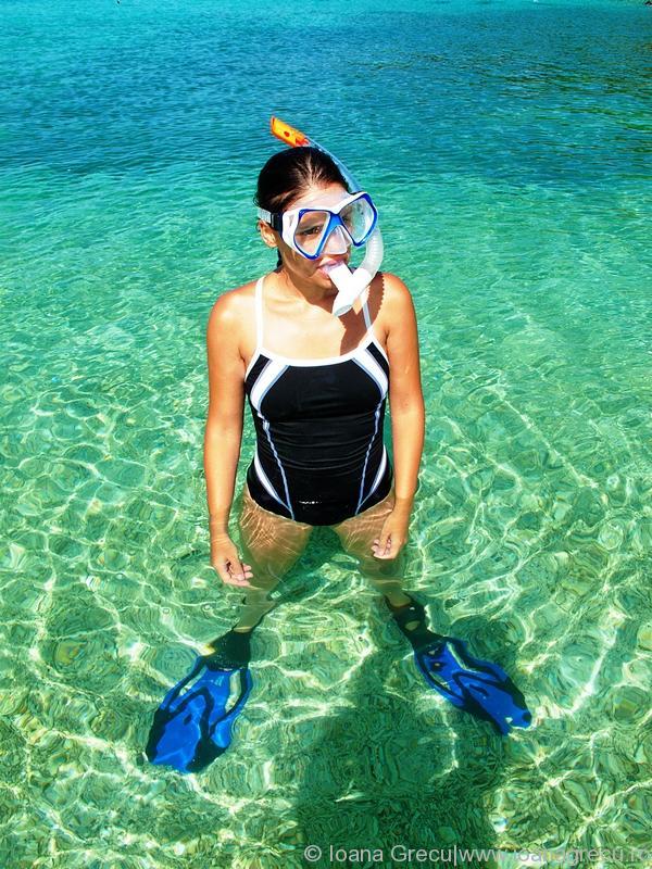 Gone snorkeling