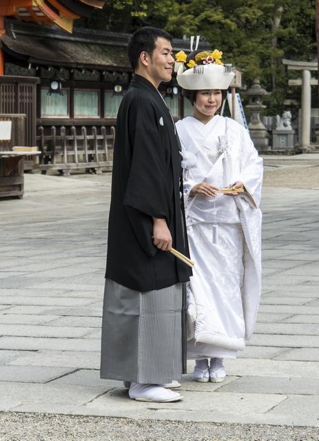 http://www.dreamstime.com/royalty-free-stock-photo-japanese-traditional-wedding-couple-getting-married-yakasa-shinto-shrine-image35100115